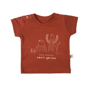 Red Caribou Keep Growing Picante T-Shirt