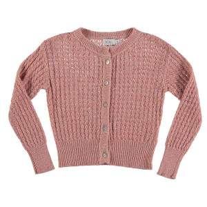 Buho Amelie Cardigan in Rose