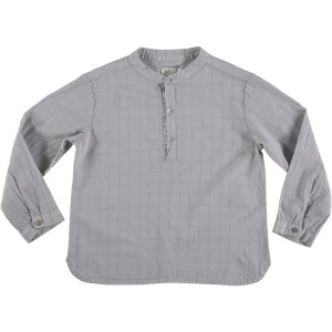 Buho Paul Voile Shirt in Cloud Check