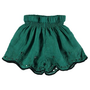Buho Leila Embroidery Short in Mint