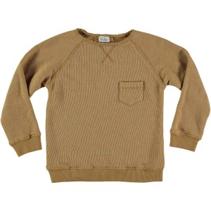 Buho Harry Pocket Sweater in Moutard
