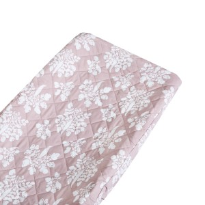 Lewis Home Changing Pad Cover in Inverse Parsnip Mauve