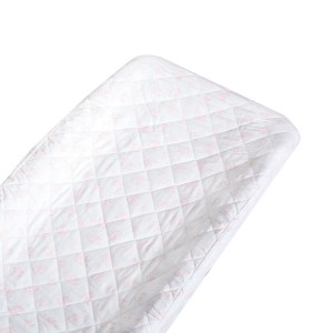 Lewis Home Changing Pad Cover in Rose Hip Blush