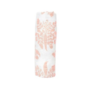 Lewis Home Swaddle in Blush Parsnip