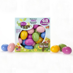 Eco Eggs Compostable Easter Eggs 48 count