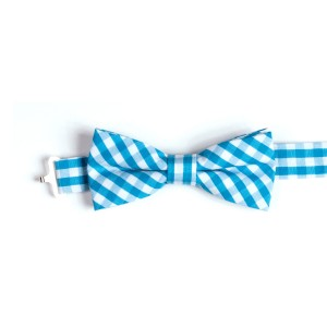 Appaman SS19 Bowtie Teal Gingham