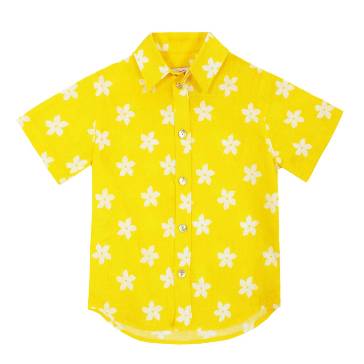 Gul Hurgel Yellow Kid's Button Down