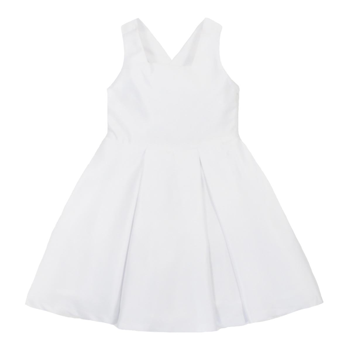 Piccola Ludo Gladiolo Dress in White