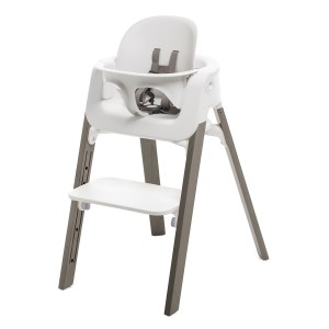 Stokke Steps Baby High Chair in Hazy Grey