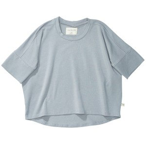 Bacabuche SS19 Tee Oversized Blue Grey
