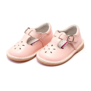 L'Amour Joy Stitch Down Mary Jane Shoes in Pink