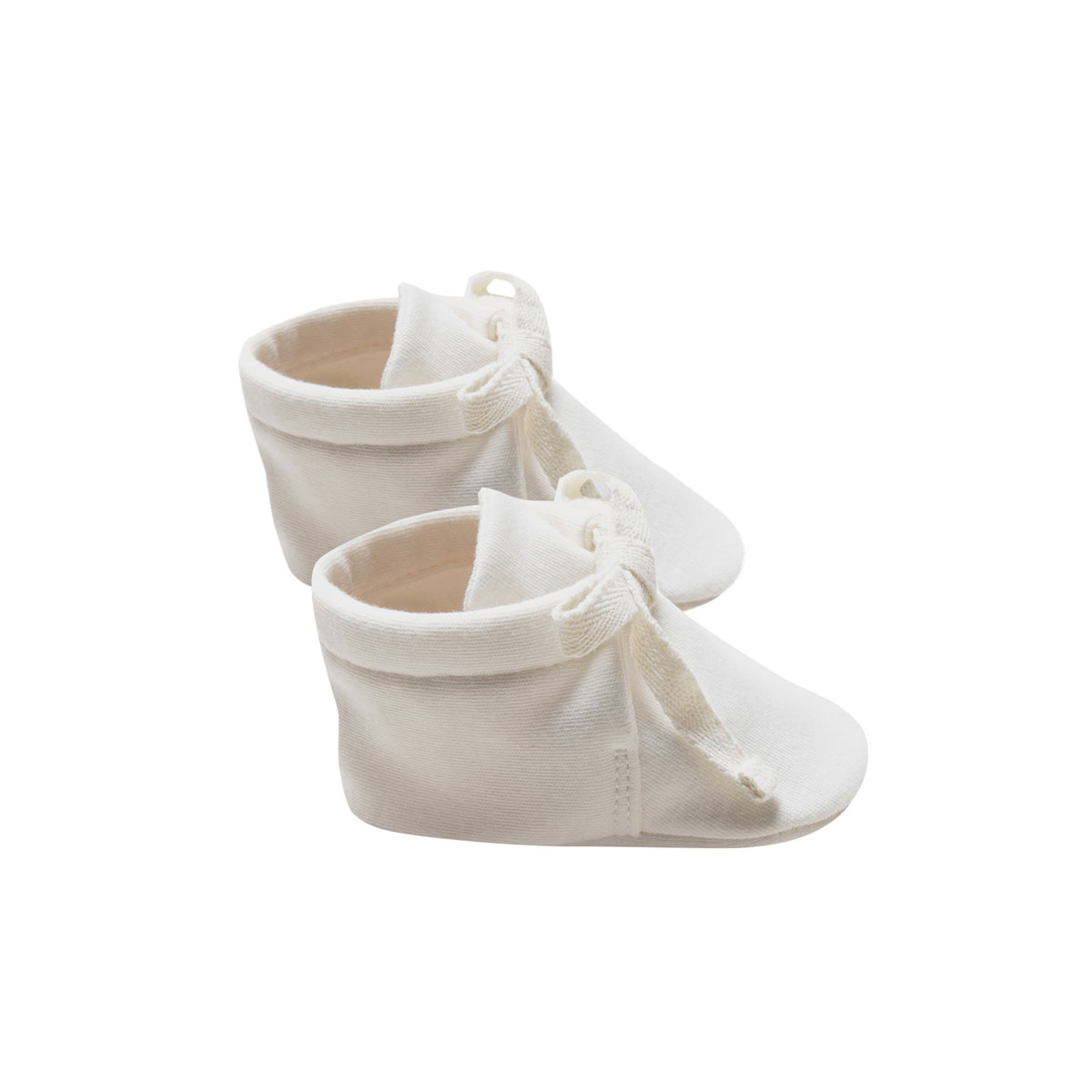Quincy Mae SS19 Booties Baby Ivory