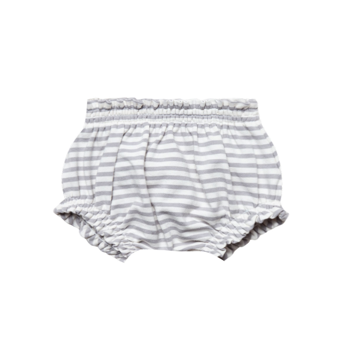 Quincy Mae SS19 Bloomer Gathered Stripe