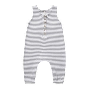 Quincy Mae SS19 Jumpsuit Sleeveless Grey Stripe