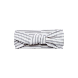 Quincy Mae SS19 Turban grey stripes