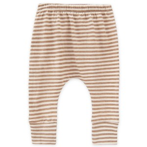 Go Gently Nation Skinny Harem Pant in Tan Stripe