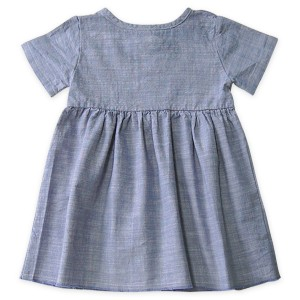 Go Gently Nation Prairie Dress in Chambray