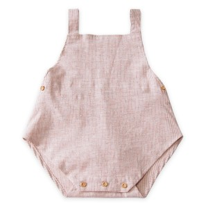 Go Gently Nation Sunsuit in Adobe Stripe