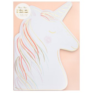 Meri Meri SS19 Unicorn Stickers Sketch Book