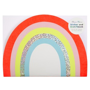 Meri Meri SS19 Rainbow Stickers Sketch Book