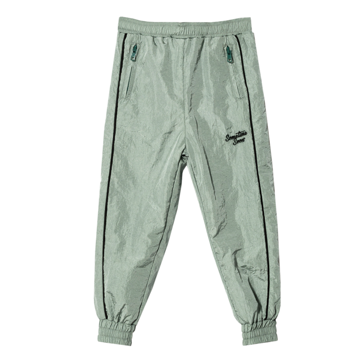 Sometime Soon SS19 Pant Union Track Light Green