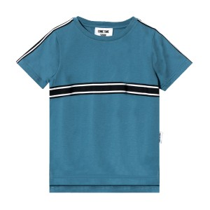 Sometime Soon SS19 T Shirt Hector Blue