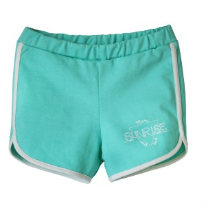 Bandy Button Opa Clear Short in Aqua
