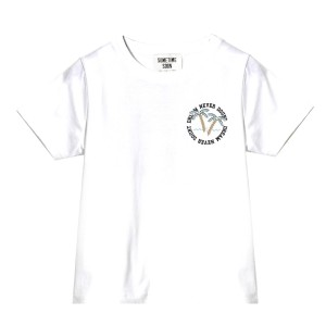 Sometime Soon SS19 T Shirt Clemente White