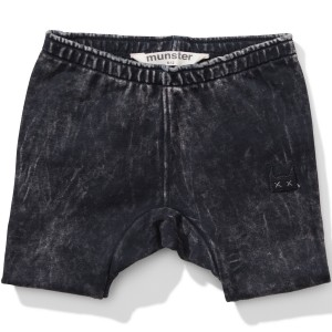 Munster Kids SS19 Short All Time Washed Black