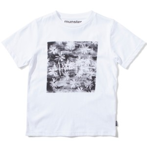 Munster Kids SS19 T Shirt Graphic Toucs White