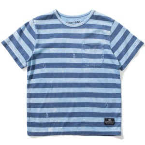 Munster Kids SS19 T Shirt Washed Up Baby Blue