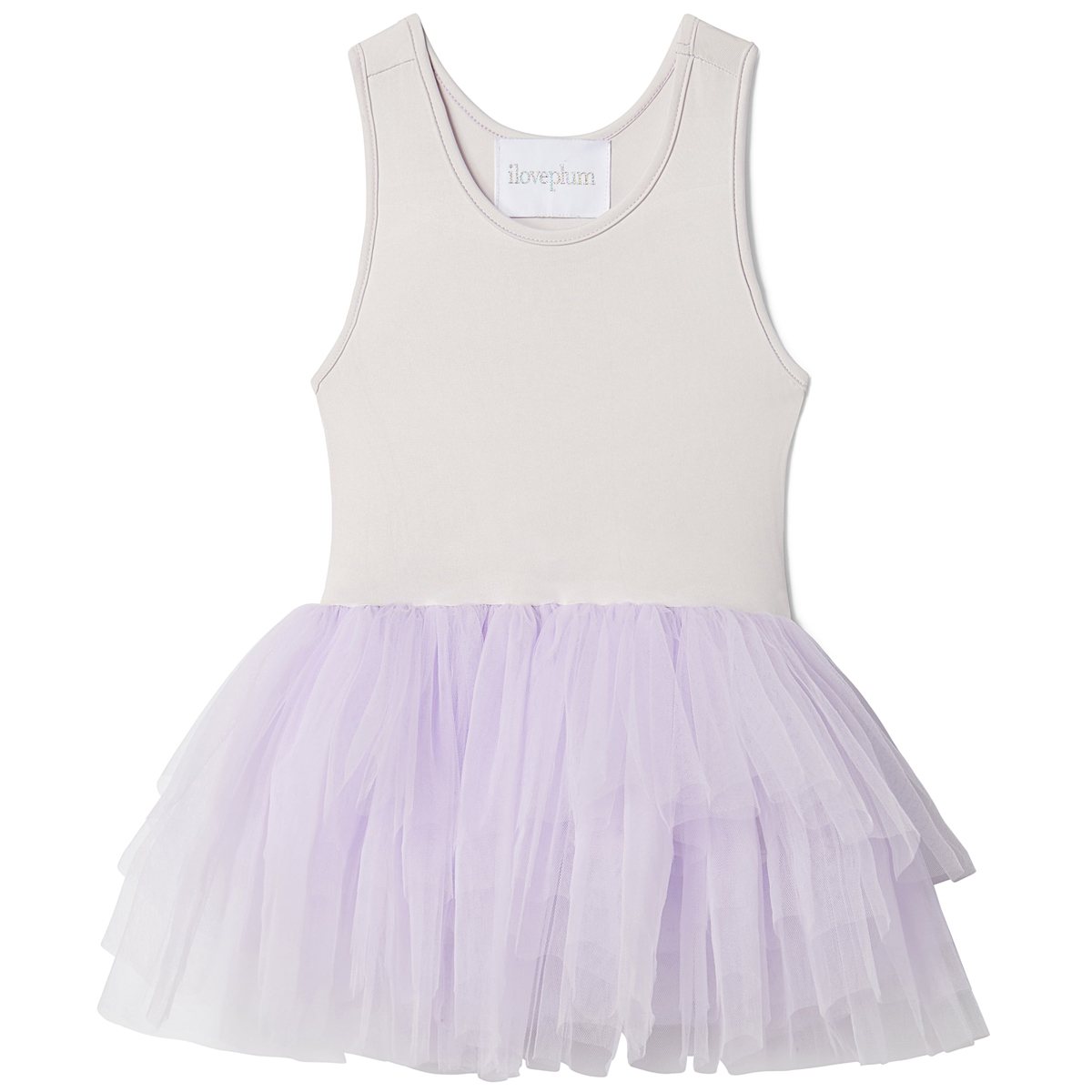 I Love Plum SS19 Tutu Bess Pastel Purple