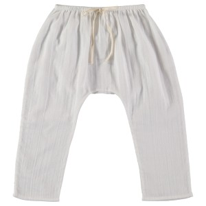 Liilu Baggy Pants in Off White