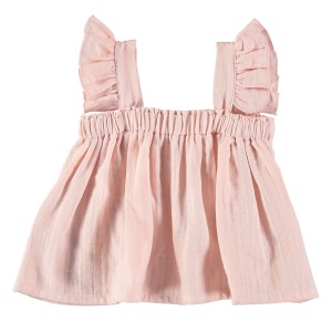 Liilu Zoe Top in Pale Pink
