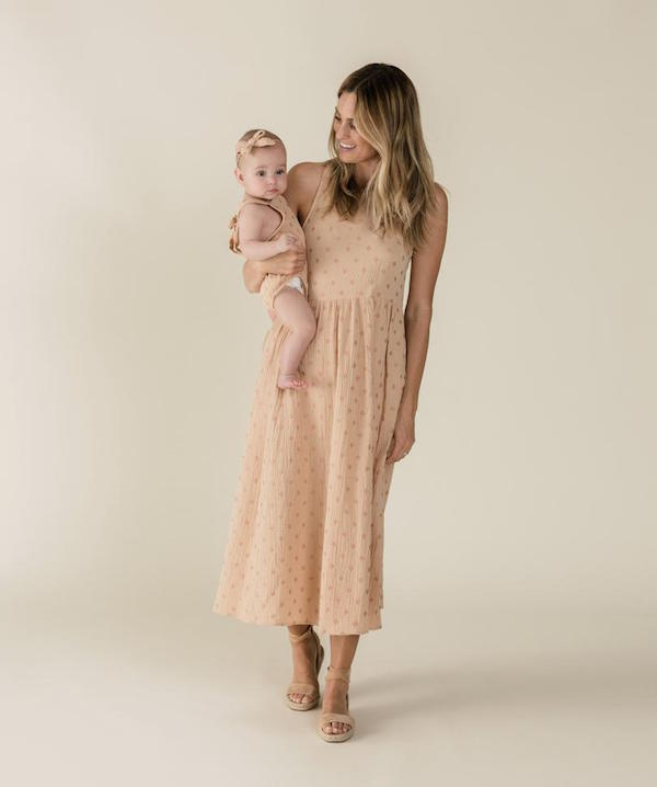 Rylee and Cru Zoe Maxi Dress Mommy and Me