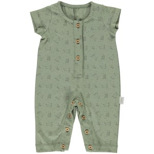 Poudre Organic SS19 Romper Cerfeuil Oil Green