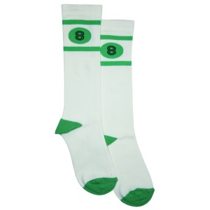 Bandy Button Ixy Socks in Green