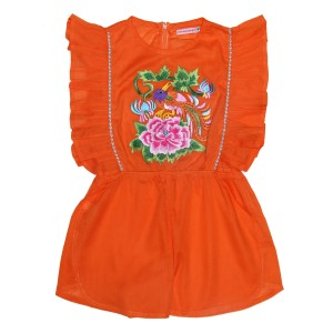 Coco Ginger SS19 Playsuit Delphine Marigold