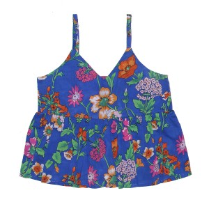 Coco Ginger SS19 Top Sunshine Azure Fiore