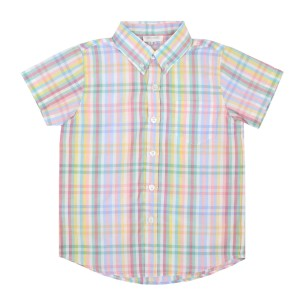 Dondolo Toby Button Down Shirt in Check