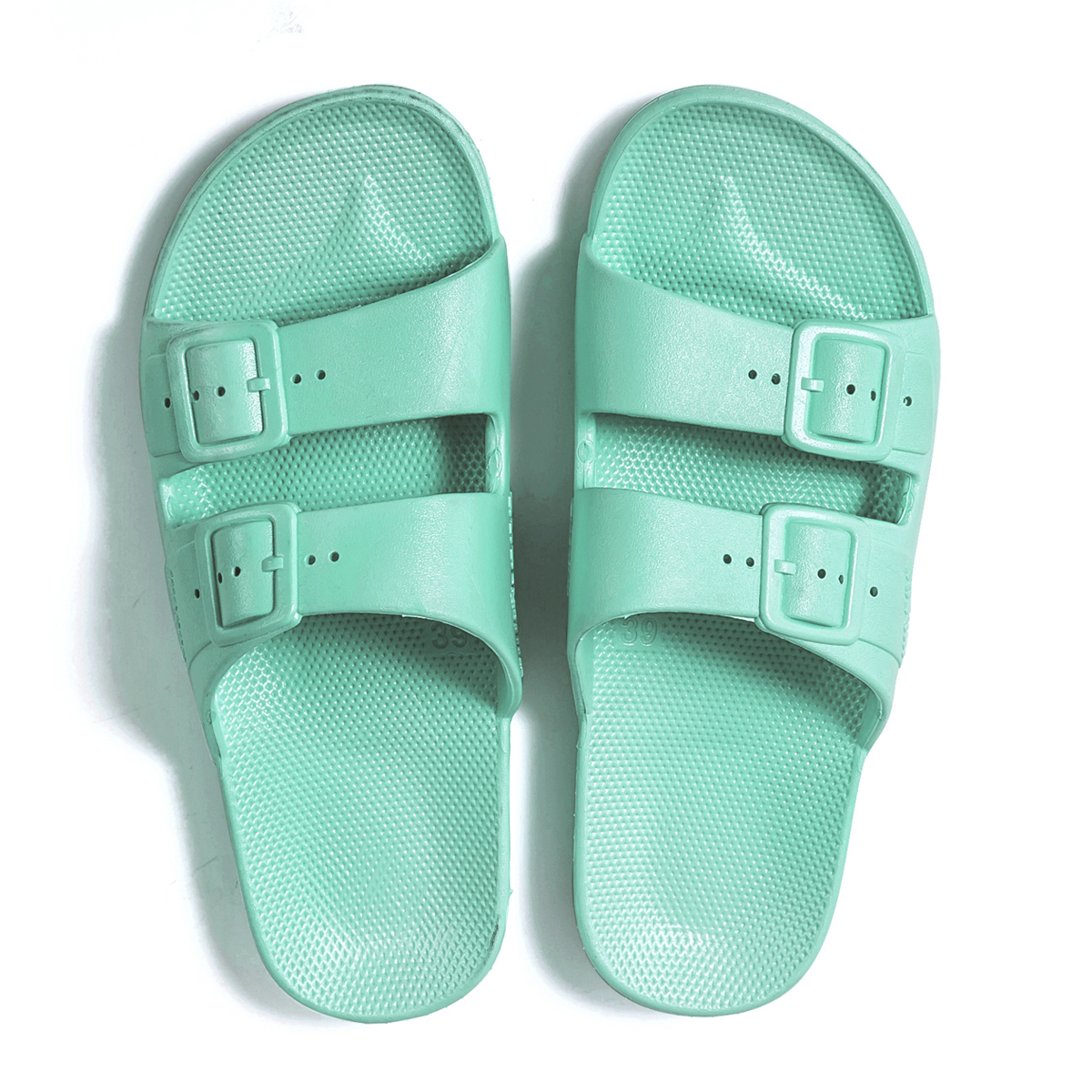 Freedom Moses KIDS Basic Slipper Shoe Miami Aqua