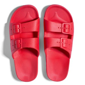 Freedom Moses KIDS Basic Slipper Shoe Red