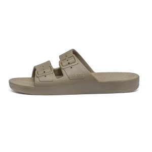 Freedom Moses Basic Slipper Shoe Khaki