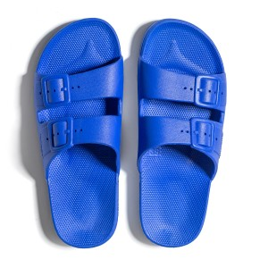 Freedom Moses KIDS Basic Slipper Shoe Blue