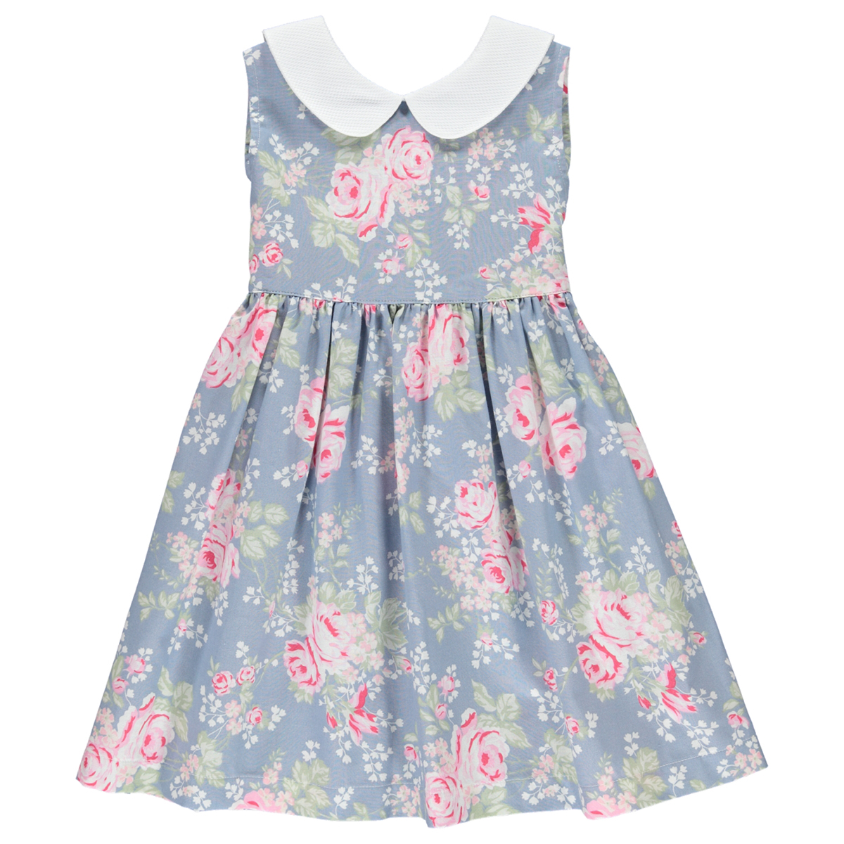 Dot Baby SS19 Dress Wendy Blue Floral