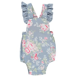 Dot Baby SS19 Romper Trinity Blue Floral