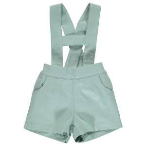 Dot Baby SS19 Short Liam T Bar Pale Green