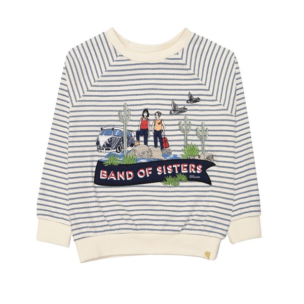 BlueSS19SweaterBandOfSistersLS1