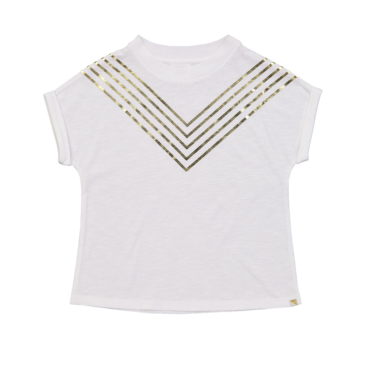 Blune Rock This Way Short Sleeve T-Shirt in White
