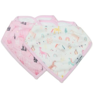 LouLou Lollipop Bib Set Unicorn